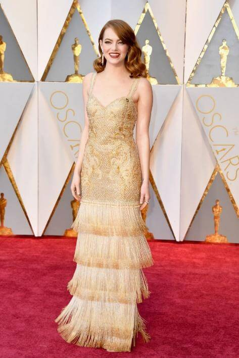 EMMA STONE: HOW TO STEAL HER RED CARPET STYLE.