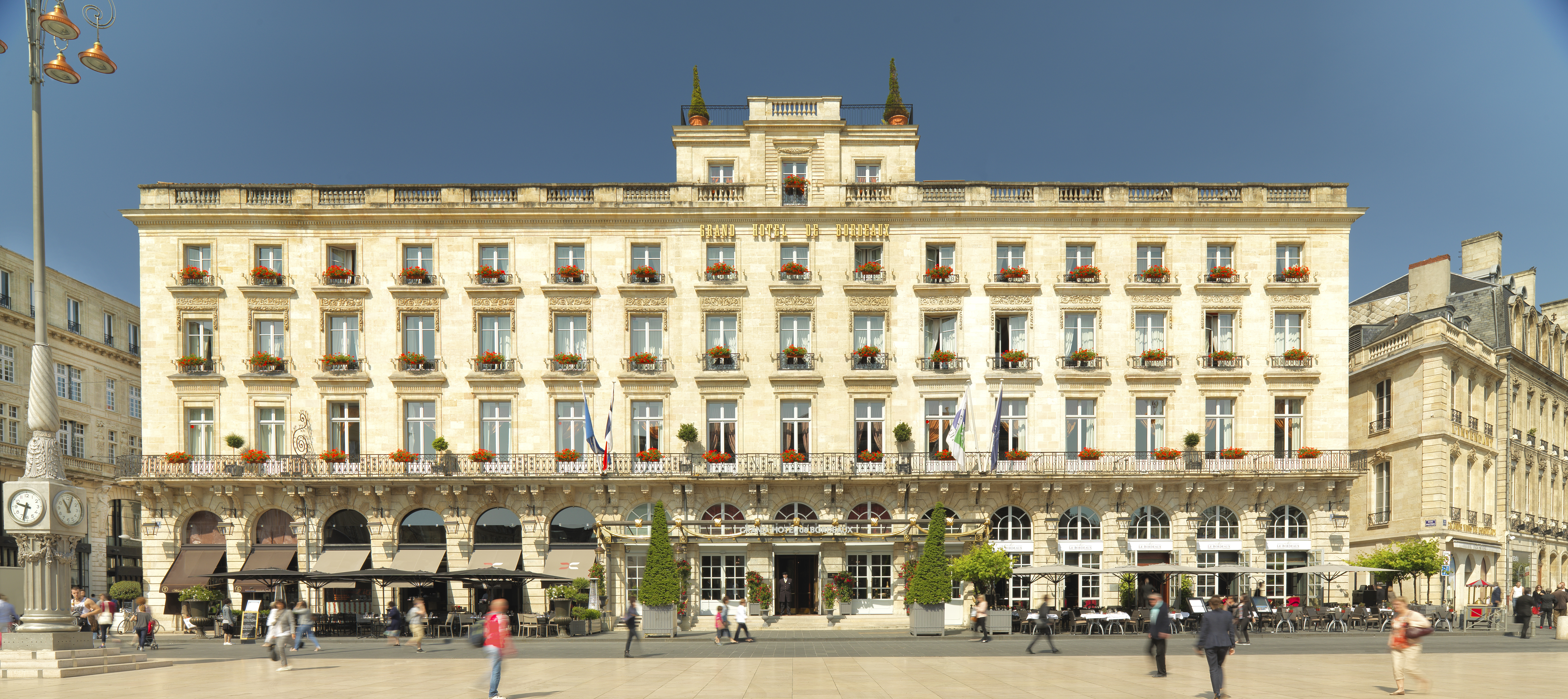 Image courtesy of the Intercontinental Bordeaux - Le Grand Hotel.