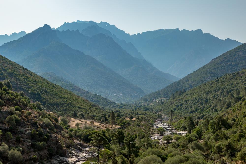 Cruising Corsica Fango Valley