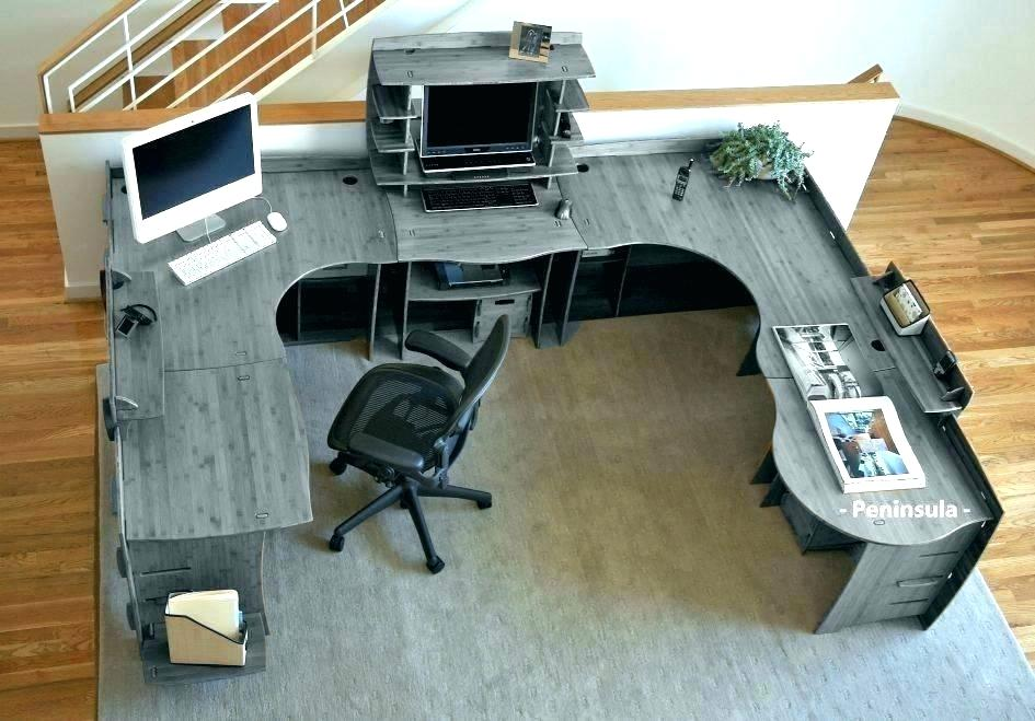 Awesome Home Office Desks For Two 2 Person Desk Furniture Ideas Ibusinesslaw Wood Chair Design Ideas Ibusinesslaworg