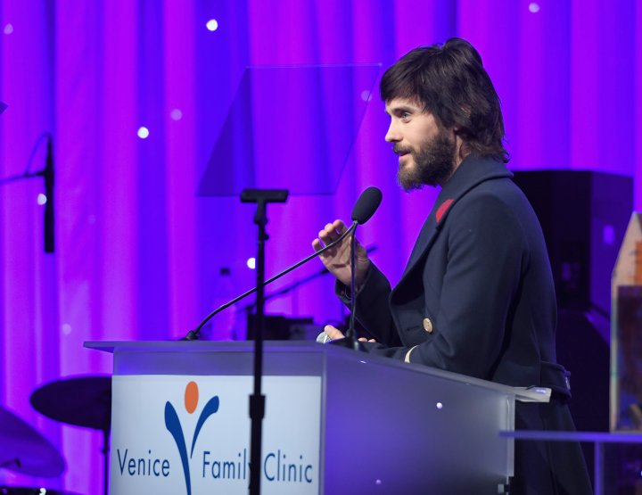 JARED LETO LENDS SUPPORT TO VENICE FAMILY CLINIC GALA.