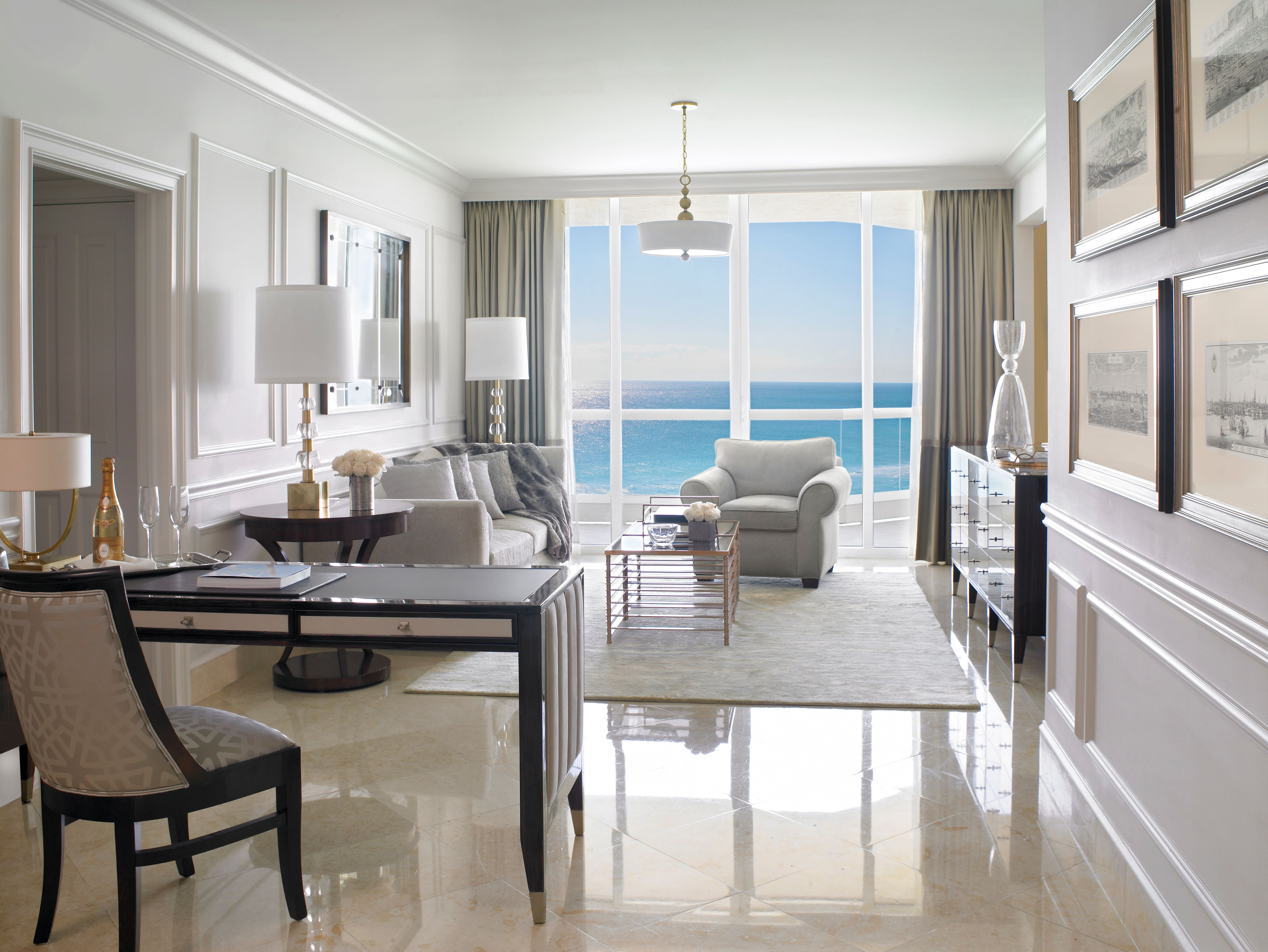 living room acqualina