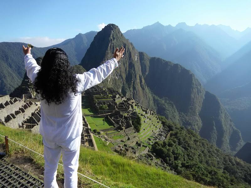 Shaman at Machu Picchu