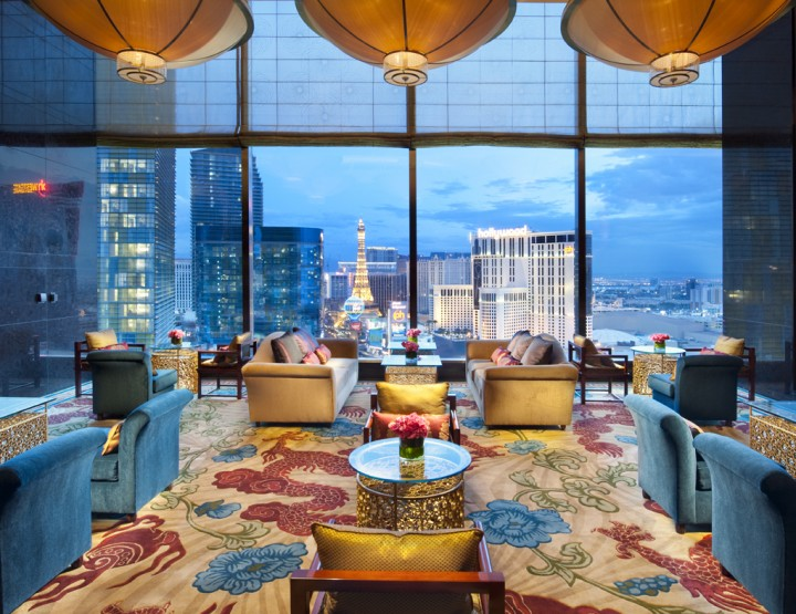 BEHOLD: THE ULTIMATE URBAN HOTEL SANCTUARY KNOWN AS THE MANDARIN ORIENTAL, VEGAS.