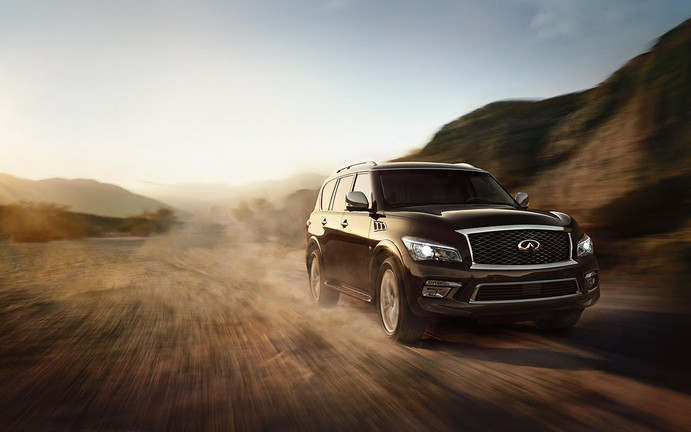 INFINITI'S WHIMSICAL QX80 SUV IS PLAYFUL AND PLUSH.