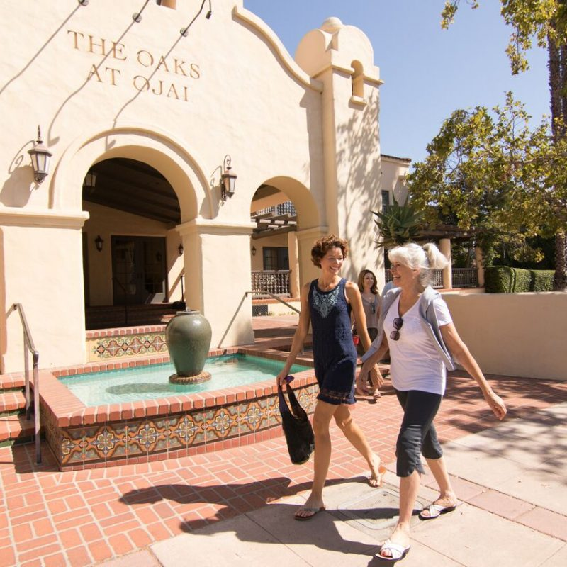 ENJOYING HEALTH, WELLNESS, AND FITNESS AT THE OAKS AT OJAI.