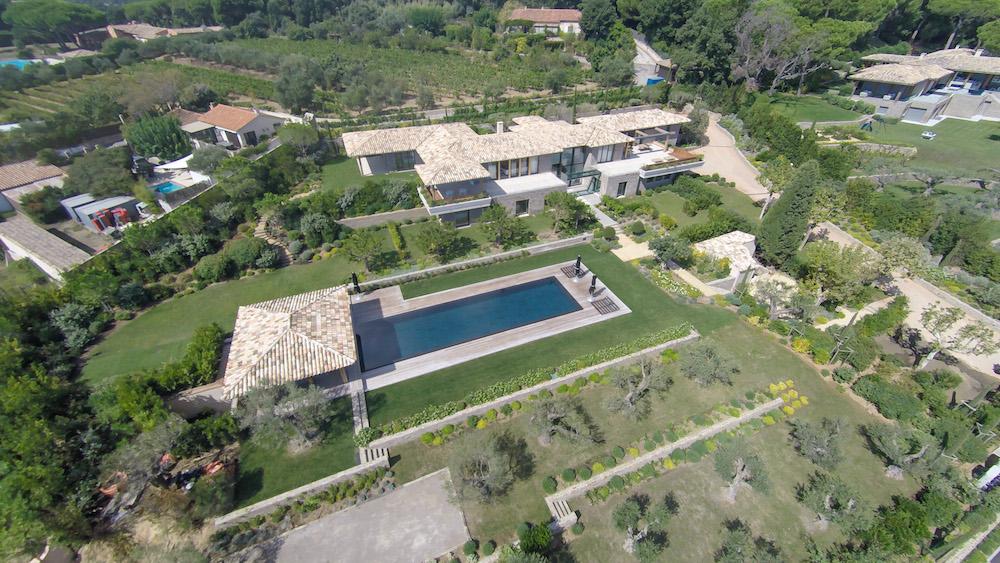 villa belazzard st tropez house
