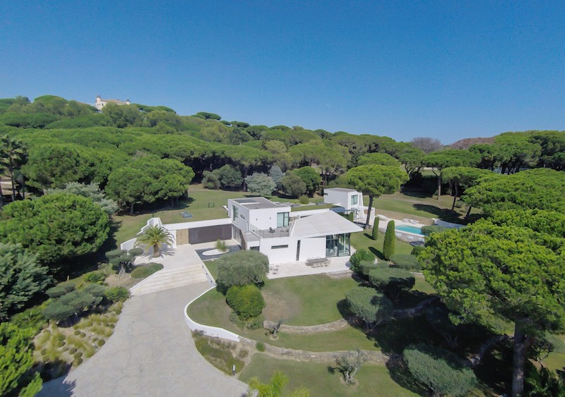 See St Tropez's Luxury Villas From Drone Perspective